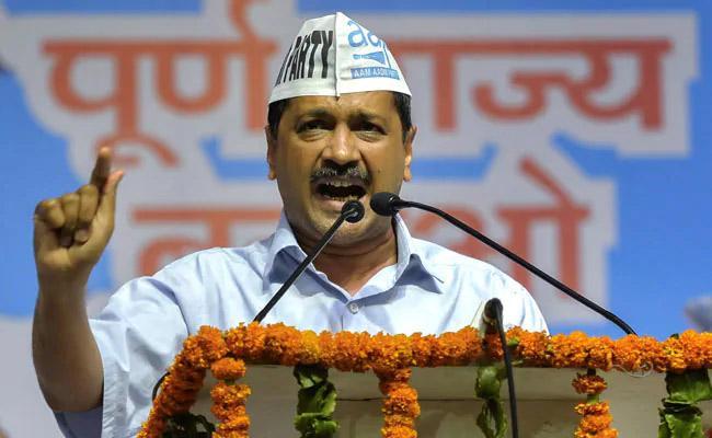 Kejriwal Not Contest In Lok Sabha Elections Says APP - Sakshi