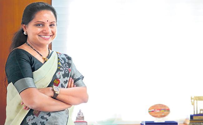 kalava kuntla kavitha special Interview whith sakshi - Sakshi