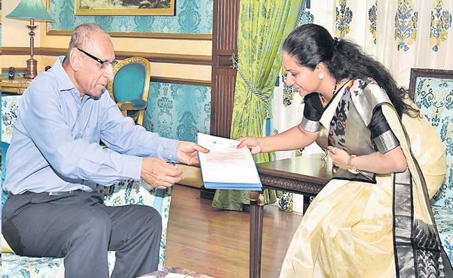 Telangana Jagruthi to hold global youth meet in Hyderabad - Sakshi