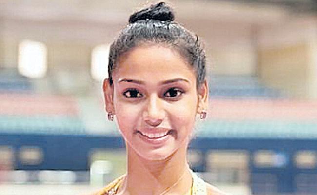 Telangana girl Meghana Reddy achieved bronze medal - Sakshi