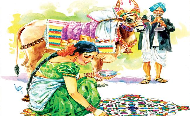 The first festive year in the new year Sankranthi is a big festival - Sakshi