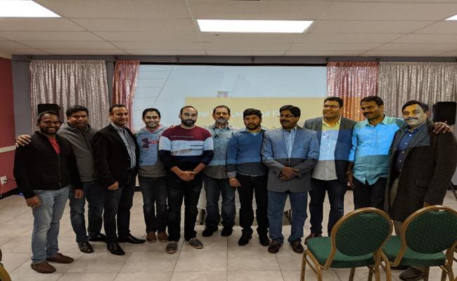 American Telugu Association conducted Income Tax Information Session at Atlanta - Sakshi