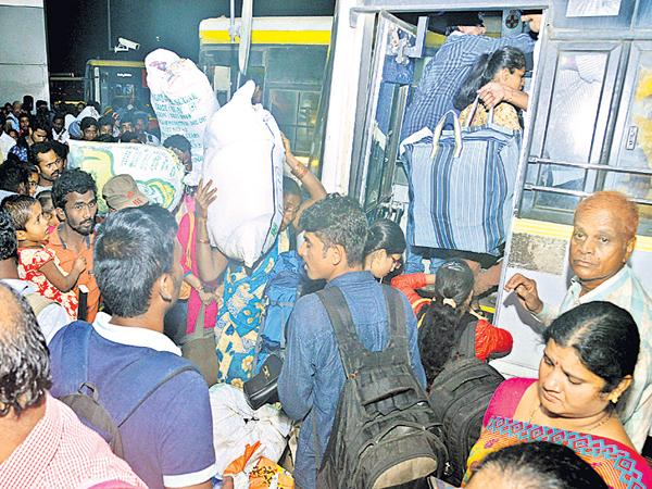 Increasing the travel difficulties - Sakshi
