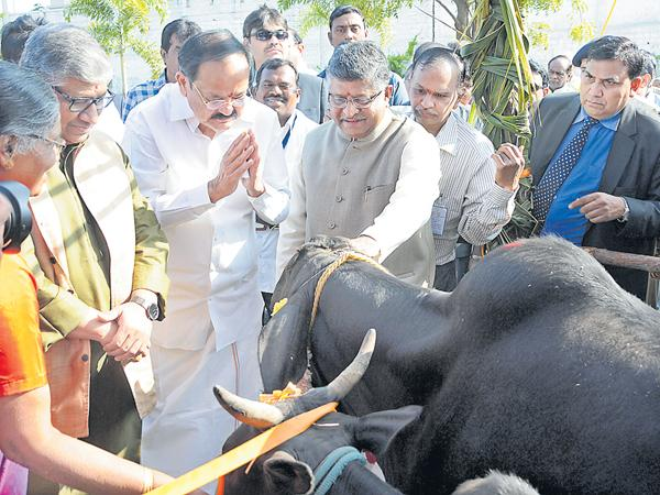 Venkiah Naidu Comments on Agriculture and Farmers - Sakshi