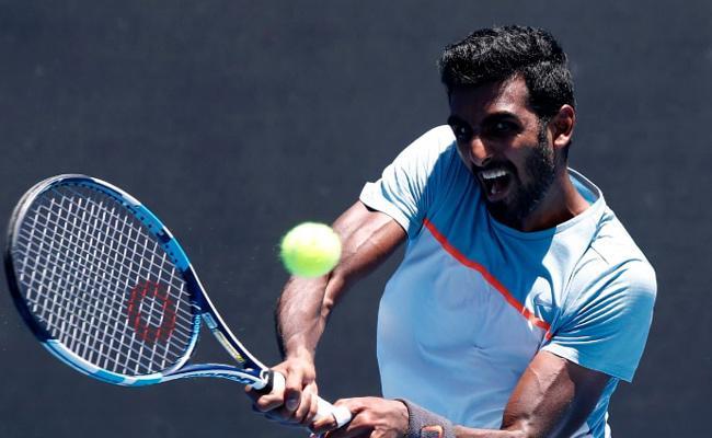 Prajnesh loses in 1st main draw appearance in Melbourne - Sakshi