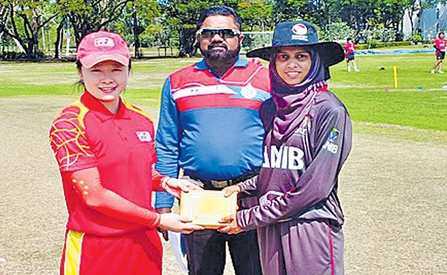 China Women bowled out for 14 record lowest T20  total ever - Sakshi