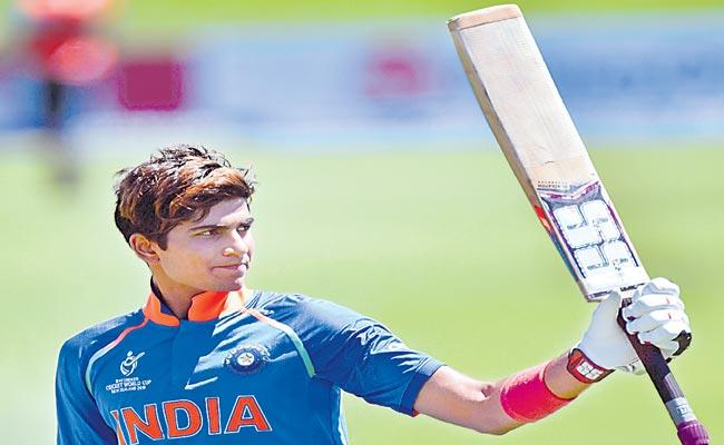 shubman Gill is the first Indian team to call for the first time - Sakshi