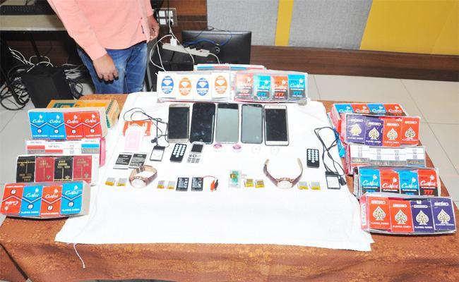 Kothamukka Fraud Game Gang Arrest in Krishna - Sakshi