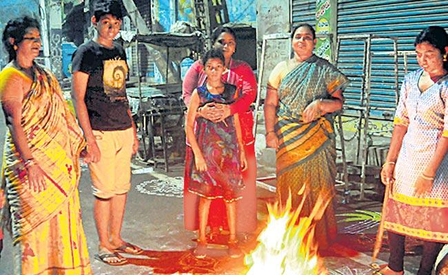 sankranthi festivel bhogimantalu - Sakshi
