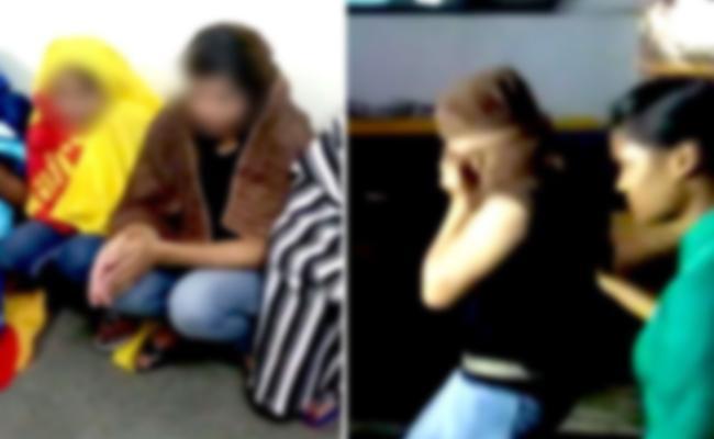 Prostitution Scandal in Massage Center Krishna - Sakshi