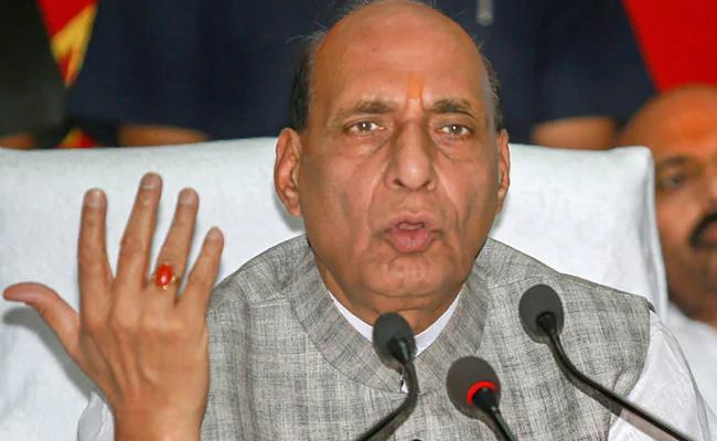 Rajnath Singh Rubbishes SP BSP Alliance - Sakshi
