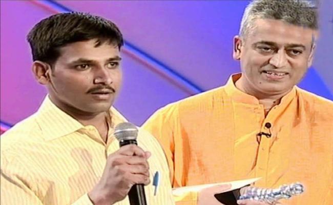 Real Hero Award For Ramesh in Karnataka - Sakshi