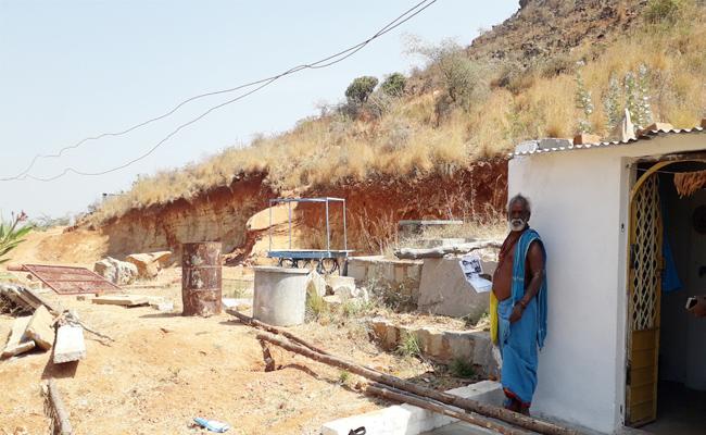 Temple Lands Grabs in Anantapur - Sakshi