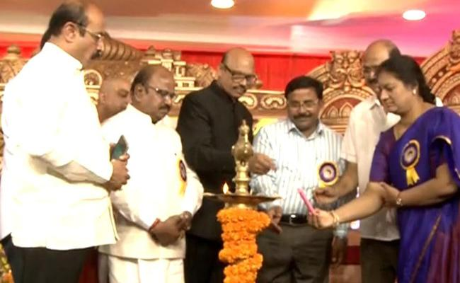 Bala SaiBaba Birth Anniversary Celebrations At Sri Nilayam - Sakshi