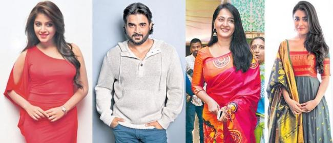 Madhavan, Anushka, Anjali, Shalini Pandey new movie launch in march - Sakshi