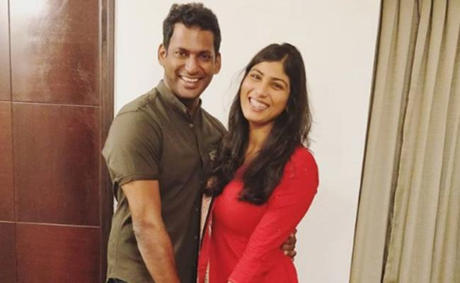 Vishal To Marry Arjun Reddy Actress Anisha Alla Reddy - Sakshi