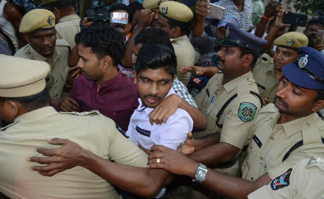 NIA Officers Petition On AP SIT About Murder Attempt On YS Jagan - Sakshi