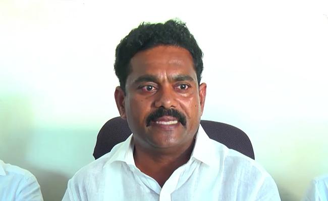 YSRCP Leader Mudunuri Prasad Raju Fires On Chandrababu Naidu Over YS Jagan KTR Meeting - Sakshi