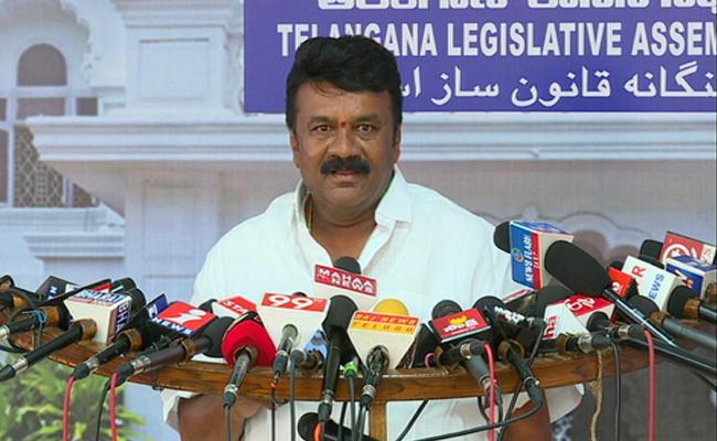 TRS MLA Talasani Srinivas Yadav Fires On Chandrababu Naidu Over Federal Front - Sakshi