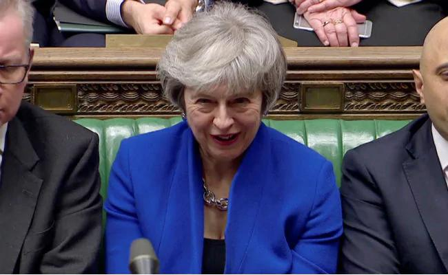 Theresa May Wins Confidence Vote - Sakshi