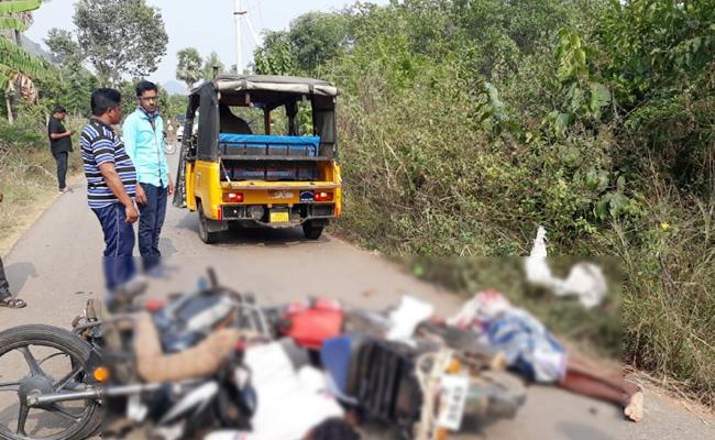 Man Died in Bike Accident Visakhapatnam - Sakshi