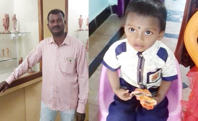 Grand Father And Grand Son Died in Bike Accident YSR Kadapa - Sakshi