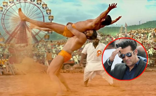 Salman Khan Praise Kannada actor Kichcha Sudeepa Pailwan Teaser - Sakshi