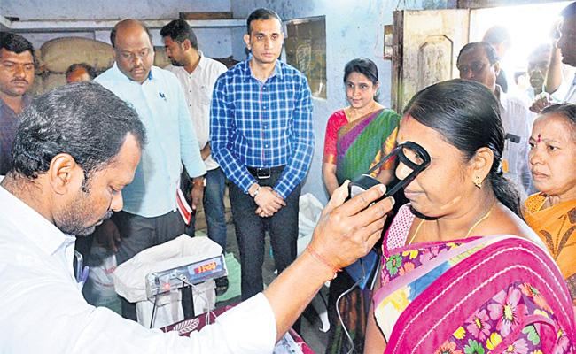Ration Rice Supply With Biometric And Iris in Shops - Sakshi