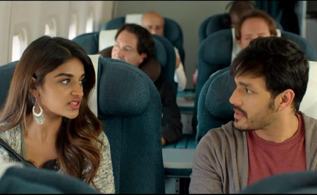 Akhil Akkineni Mr Majnu Trailer Released - Sakshi