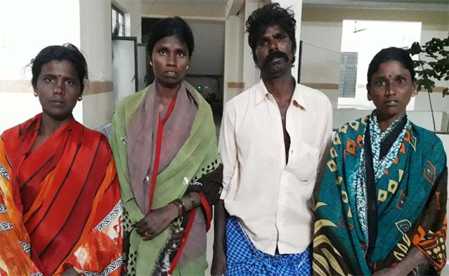 TDP Leaders Attack On Dalith Family - Sakshi