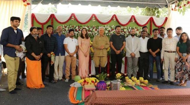 Indian 2 starring Kamal Haasan and Kajal Aggarwal goes on the floors - Sakshi