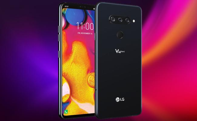 LG V40 ThinQ With Five Cameras Now on Sale in India - Sakshi