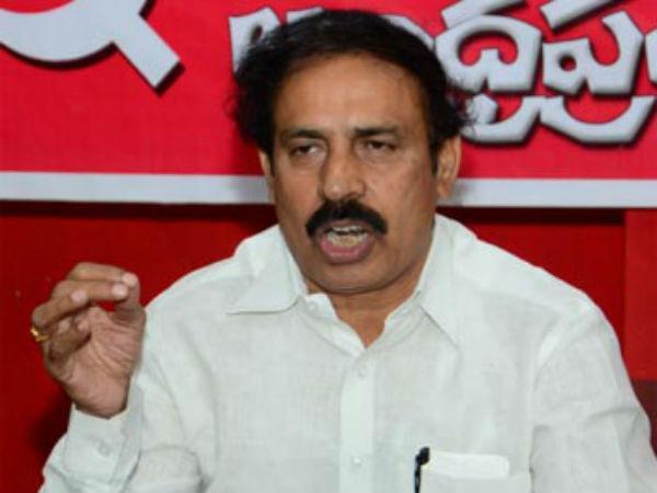 CPI Ramakrishna Slams On Chandrababu Naidu - Sakshi