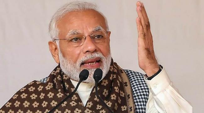 Modi Says His Govt Will Strive For Andhra Pradesh Devolopment - Sakshi