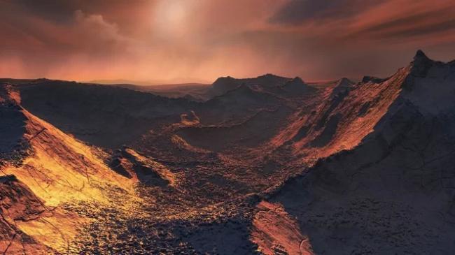 Does alien life in Barnard b - Sakshi
