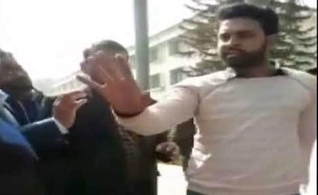In Utter Pradesh Congress Student Leader Molested Teen to Better Behave - Sakshi