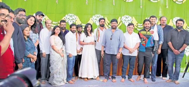Mega Star For Vaishnav Tej's Debut Launch - Sakshi