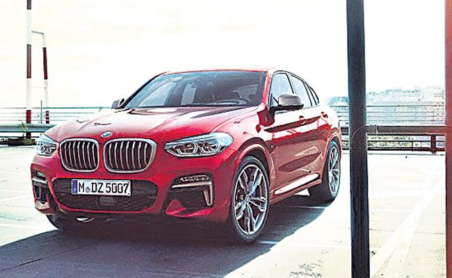 BMW rolls out all-new X4 model in India - Sakshi