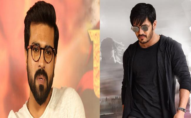 Ram Charan Comment On Akhil Akkineni Mr Majnu Trailer - Sakshi
