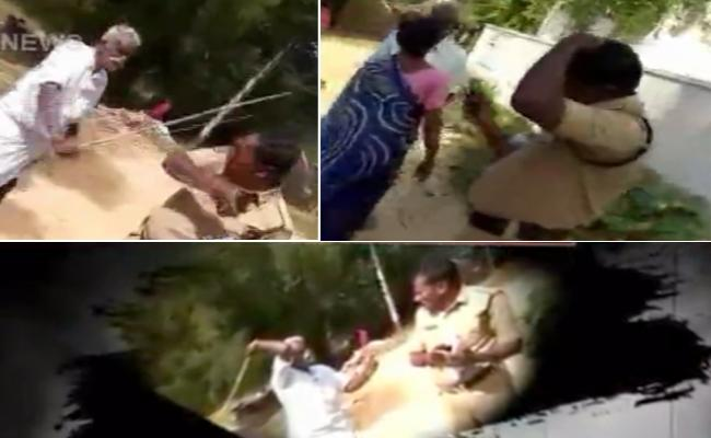 TDP Supporter Attack On Constable In Chittoor District - Sakshi