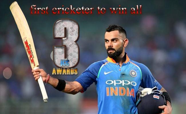 Virat Kohli First Player To Sweeps ICC Awards In Single Year - Sakshi
