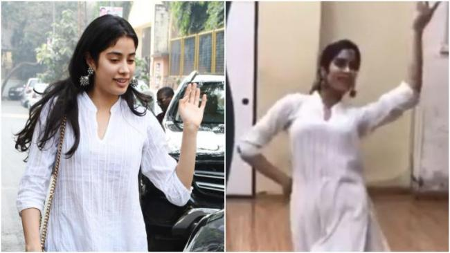 Janhvi Kapoor Dance Video Will Remind You Of Sridevi - Sakshi