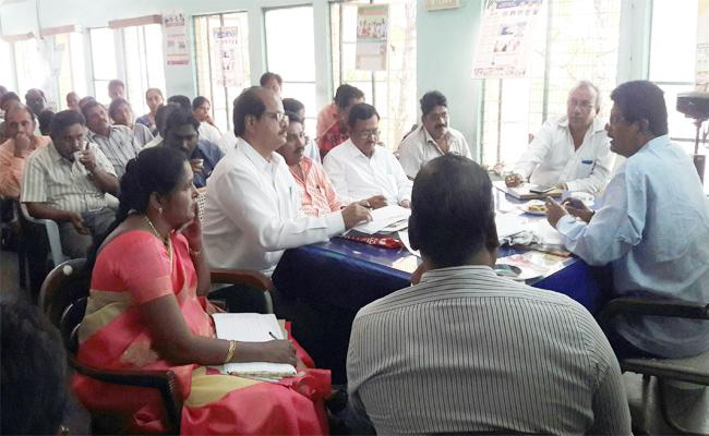 Tribal welfare department officer Checks in Government Hostels - Sakshi