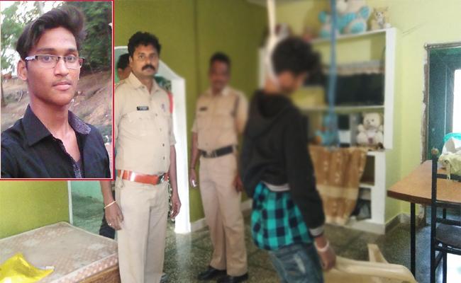 Sai Avinash Commits Suicide in Srikakulam - Sakshi