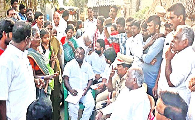 SC Commission Member Ramulu Visit Chittoor District - Sakshi