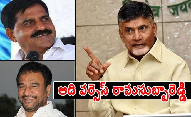 Adinarayana Reddy, RamasubbaReddy Did not Agree With Chandrababu - Sakshi