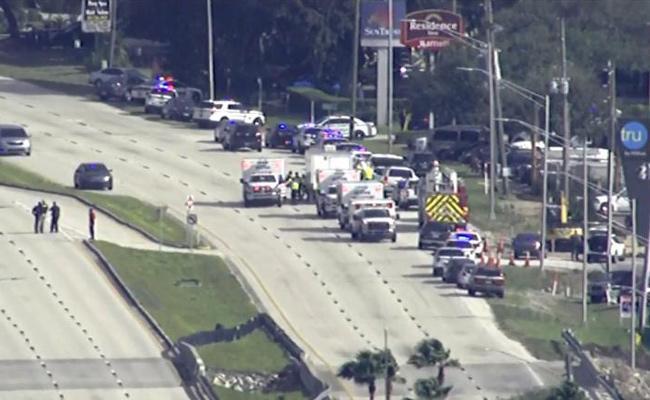 Five Dead In Shooting At Florida Bank Suspect Arrested - Sakshi