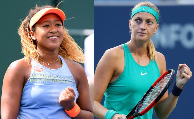 Osaka edges Pliskova to set up Open final with Kvitova - Sakshi
