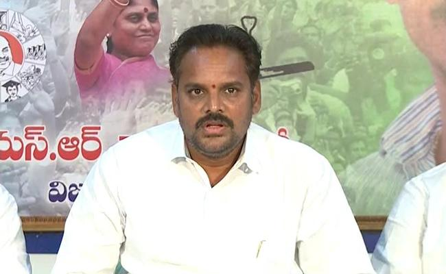 YSRCP Leader Majji Srinivasa Rao Fires On Ashok Gajapathi Raju - Sakshi