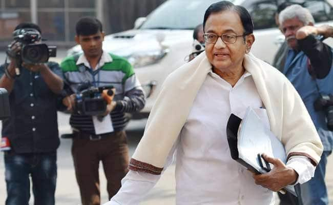 Chidambaram Takes Dig At Centre Over Railway Jobs Announcement - Sakshi